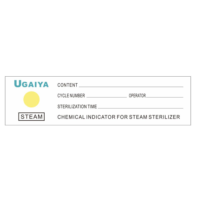 Steam Chemical Indicator Sticker Type 1