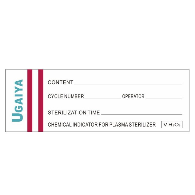 Chemical Indication Sticker VH2O2